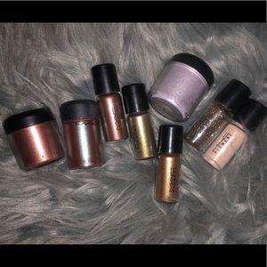 Mac pigment eyeshadows
